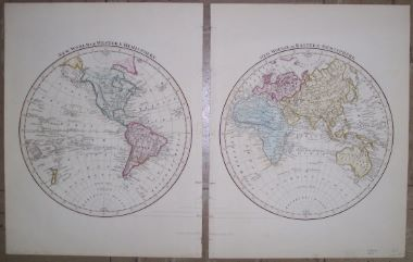 Map antique new world or western hemisphere old world or eastern image 1 of 3 gumiabroncs Gallery
