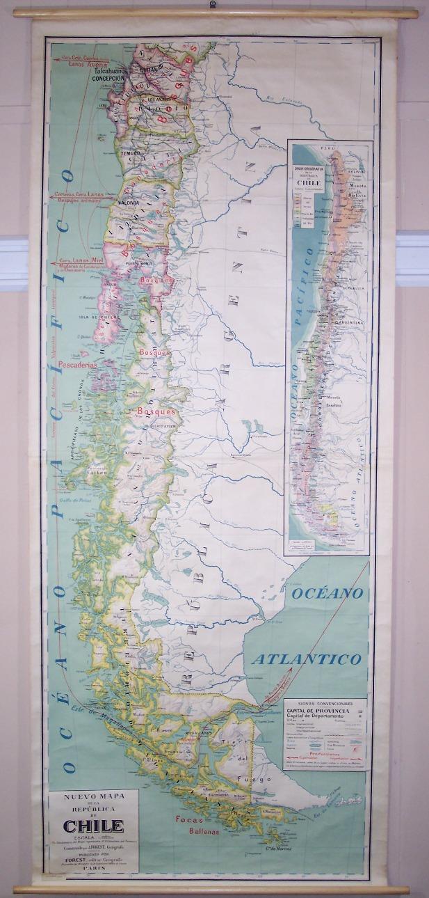concepción chile mapa
