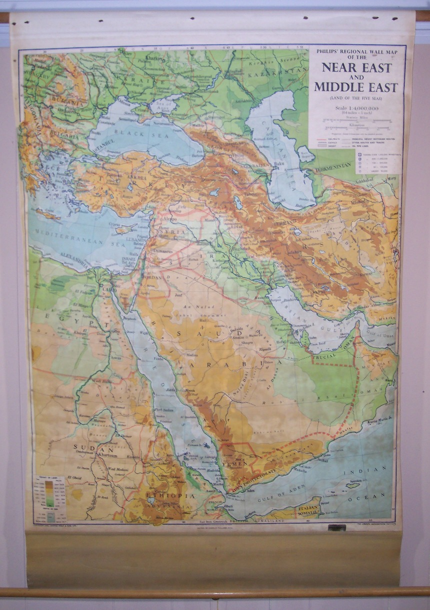 Maps Antique Country Israel