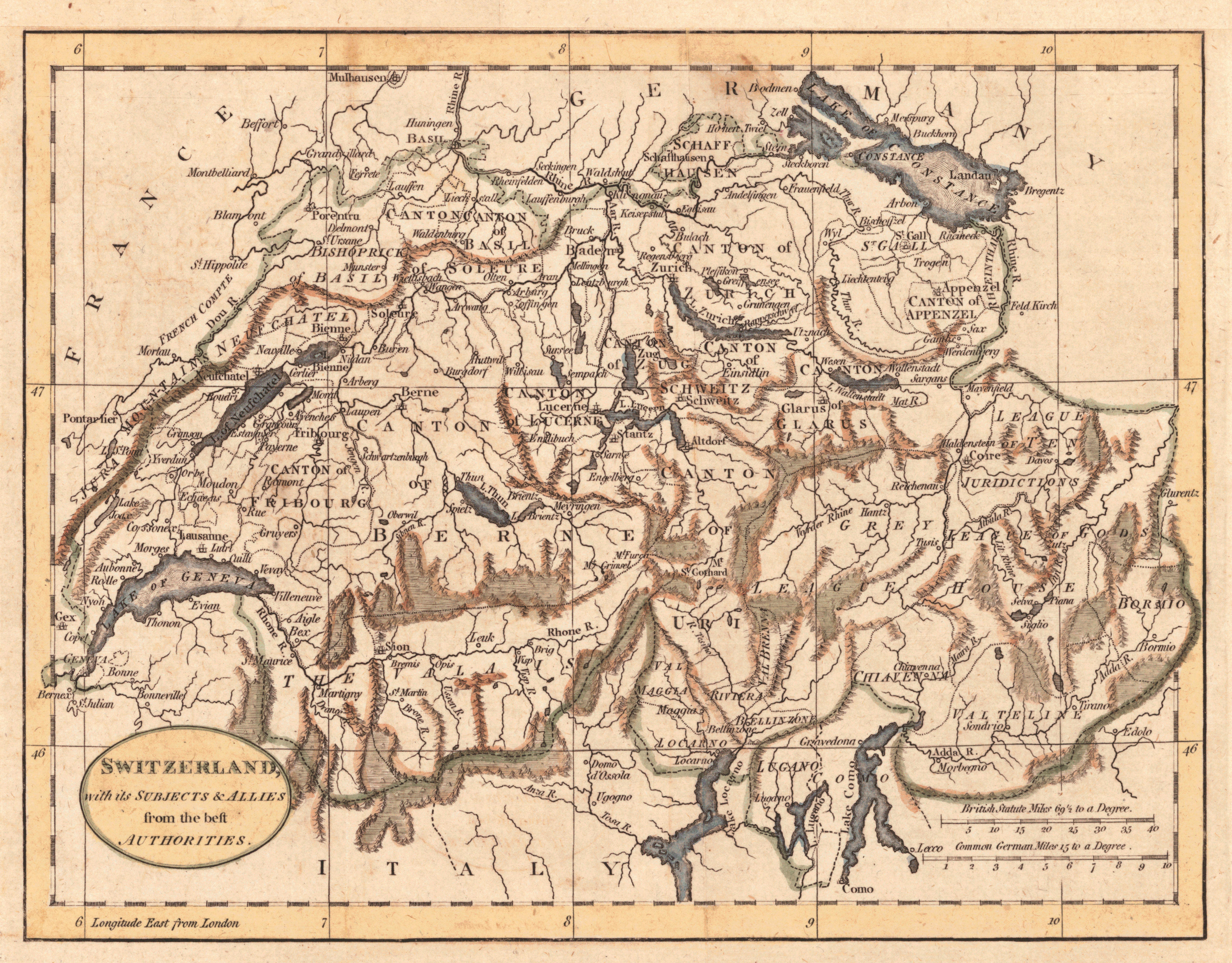 karte topographisch europa