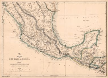 Map Antique Weekly Dispatch Atlas Central America Northern Part on shipping maps, data maps, jail maps, transmission maps, inventory maps, service maps,