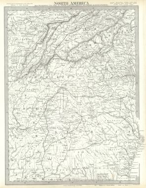 Map Of Georgia And North Carolina.Map Antique North America Sheet Xii Georgia With Parts Of North And