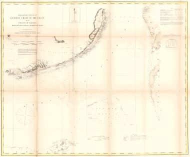 Map Antique Preliminary Edition Of General Chart Of The Coast No X